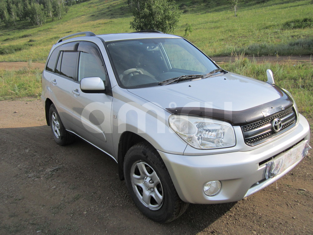 Подержанный Toyota RAV4, отличное состояние, серебряный металлик, 2003 года выпуска, цена 490 000 руб. в Челябинской области