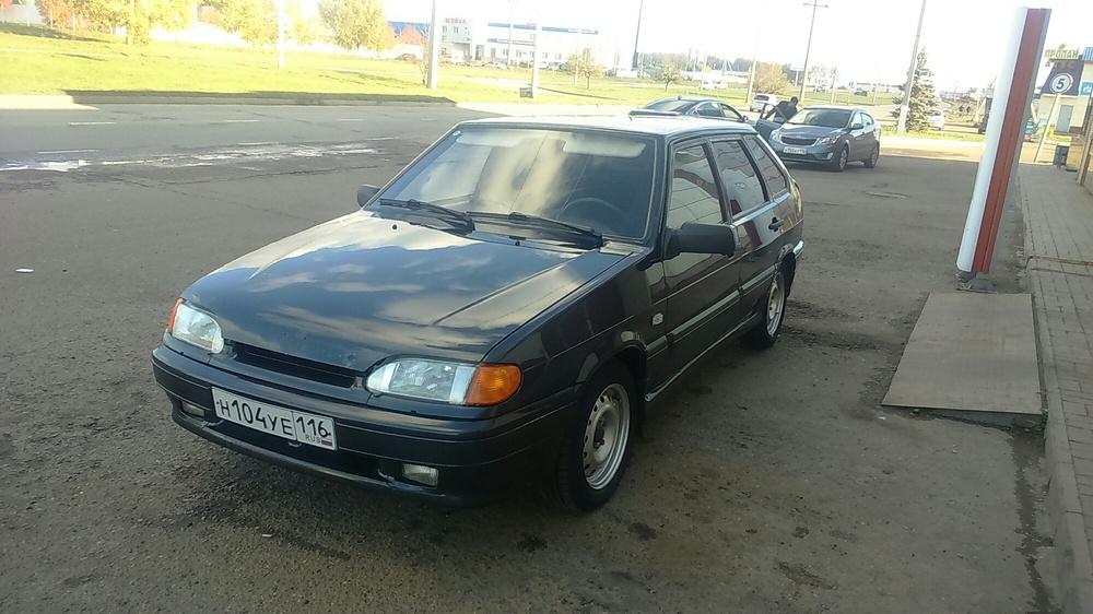 Подержанный ВАЗ (Lada) 2114, отличное состояние, черный металлик, 2006 года выпуска, цена 100 000 руб. в республике Татарстане