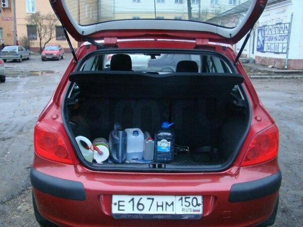 Подержанный Peugeot 307, хорошее состояние, красный металлик, 2007 года выпуска, цена 270 000 руб. в Смоленской области