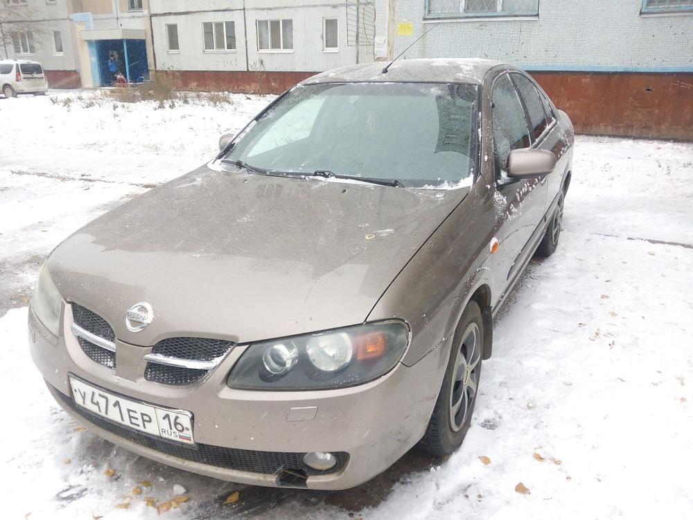Подержанный Nissan Almera, хорошее состояние, серый , 2005 года выпуска, цена 155 000 руб. в республике Татарстане