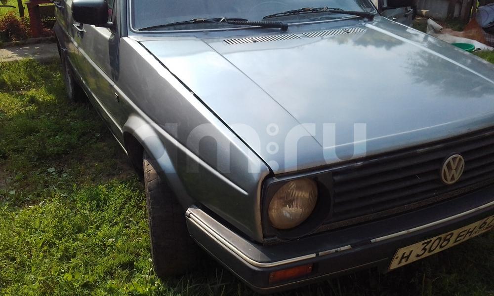 Подержанный Volkswagen Gol, хорошее состояние, серый , 1989 года выпуска, цена 45 000 руб. в Смоленской области