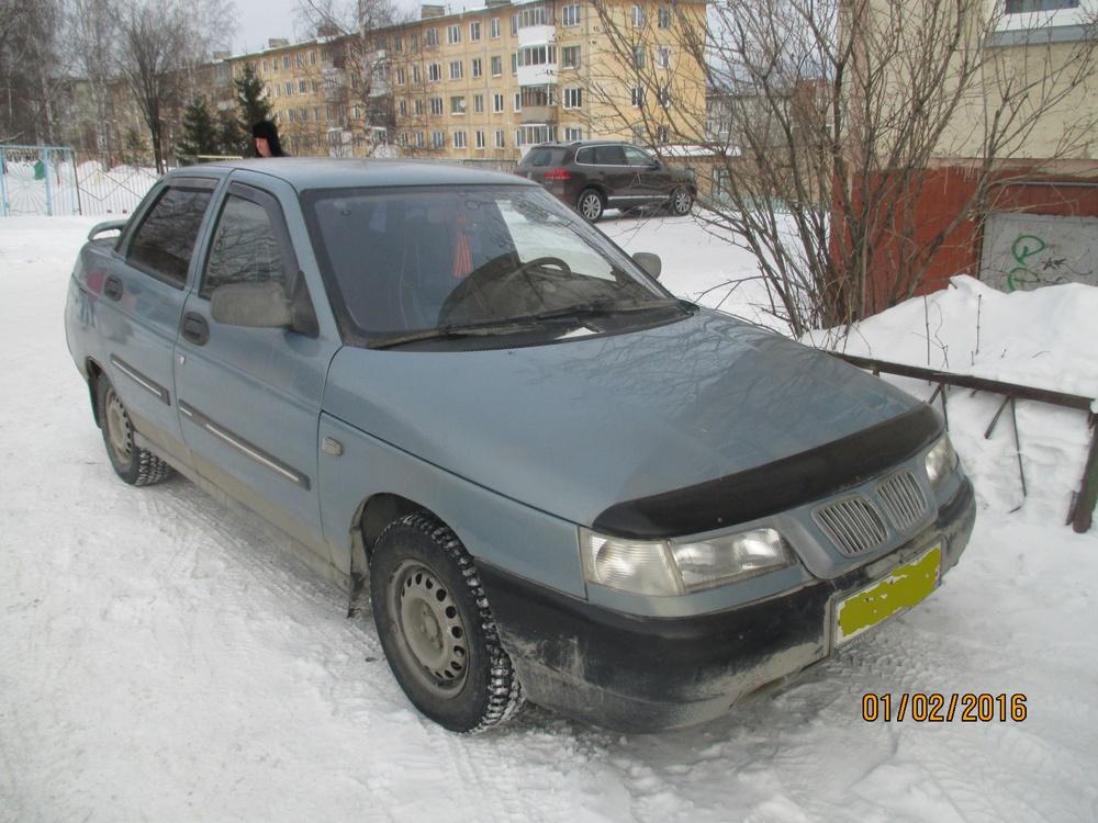 Подержанный ВАЗ (Lada) 2110, среднее состояние, серый металлик, 2003 года выпуска, цена 70 000 руб. в Челябинской области