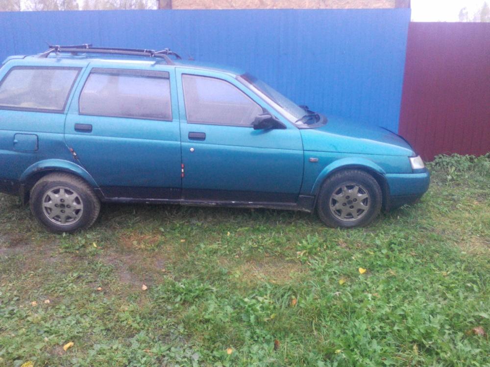 Подержанный ВАЗ (Lada) 2111, среднее состояние, бирюзовый , 2003 года выпуска, цена 60 000 руб. в Смоленской области