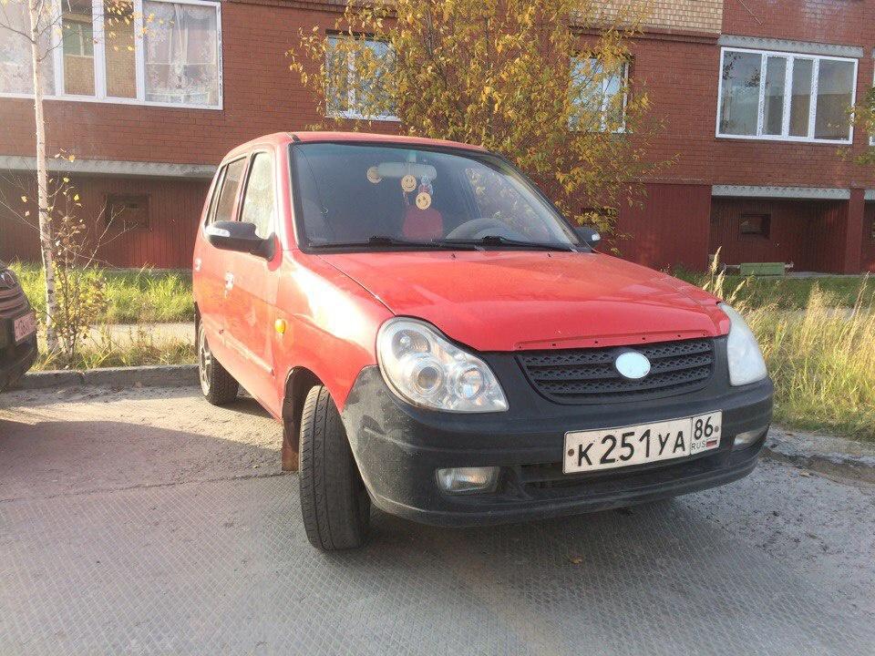 Подержанный BYD Flyer, хорошее состояние, красный , 2006 года выпуска, цена 70 000 руб. в ао. Ханты-Мансийском Автономном округе - Югре