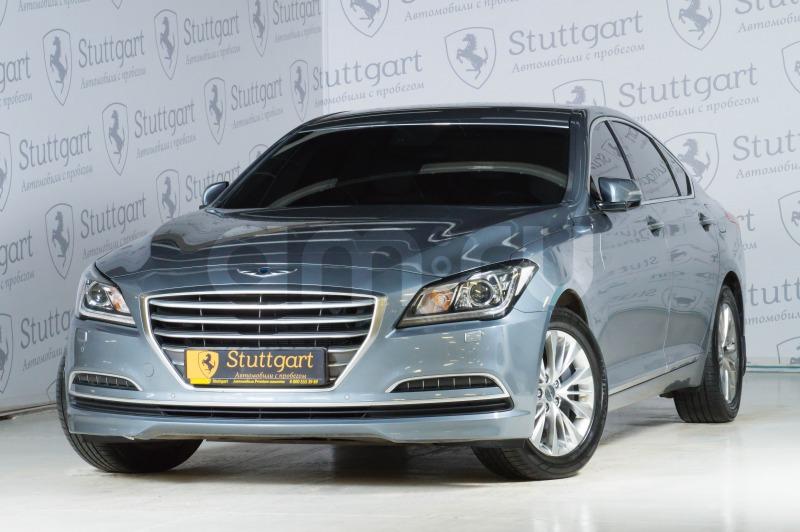 Hyundai Genesis с пробегом, серый , отличное состояние, 2015 года выпуска, цена 1 650 000 руб. в автосалоне Stuttgart (Екатеринбург, ул. Металлургов, д. 84(напротив ТЦ «Мега»))