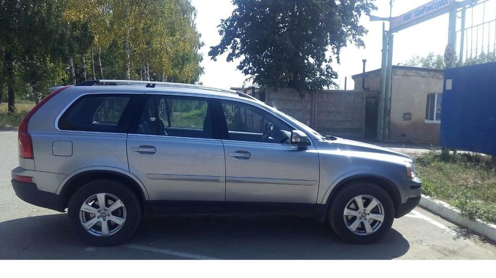 Подержанный Volvo XC90, отличное состояние, серебряный , 2011 года выпуска, цена 1 250 000 руб. в республике Татарстане