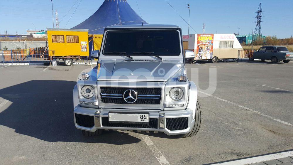 Подержанный Mercedes-Benz G-Класс, отличное состояние, серебряный металлик, 2005 года выпуска, цена 2 400 000 руб. в ао. Ханты-Мансийском Автономном округе - Югре