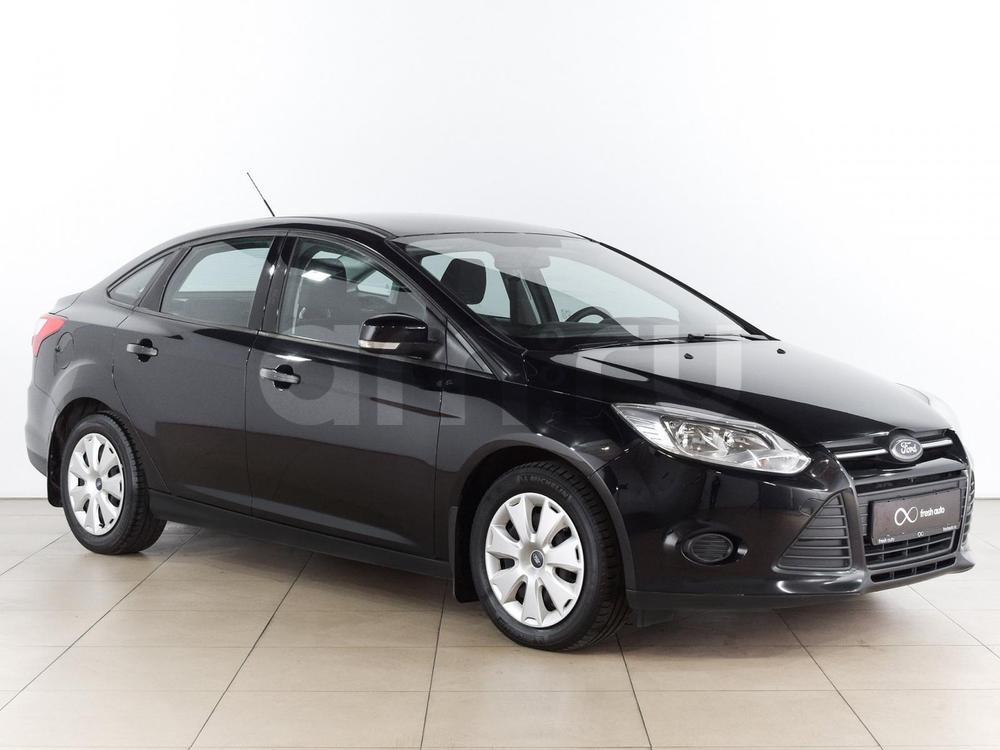 Ford Focus с пробегом, черный , отличное состояние, 2011 года выпуска, цена 479 000 руб. в автосалоне  ()