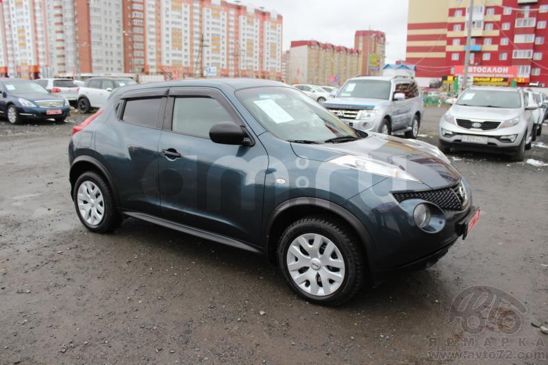 Nissan Juke с пробегом, синий металлик, отличное состояние, 2011 года выпуска, цена 595 000 руб. в автосалоне  ()