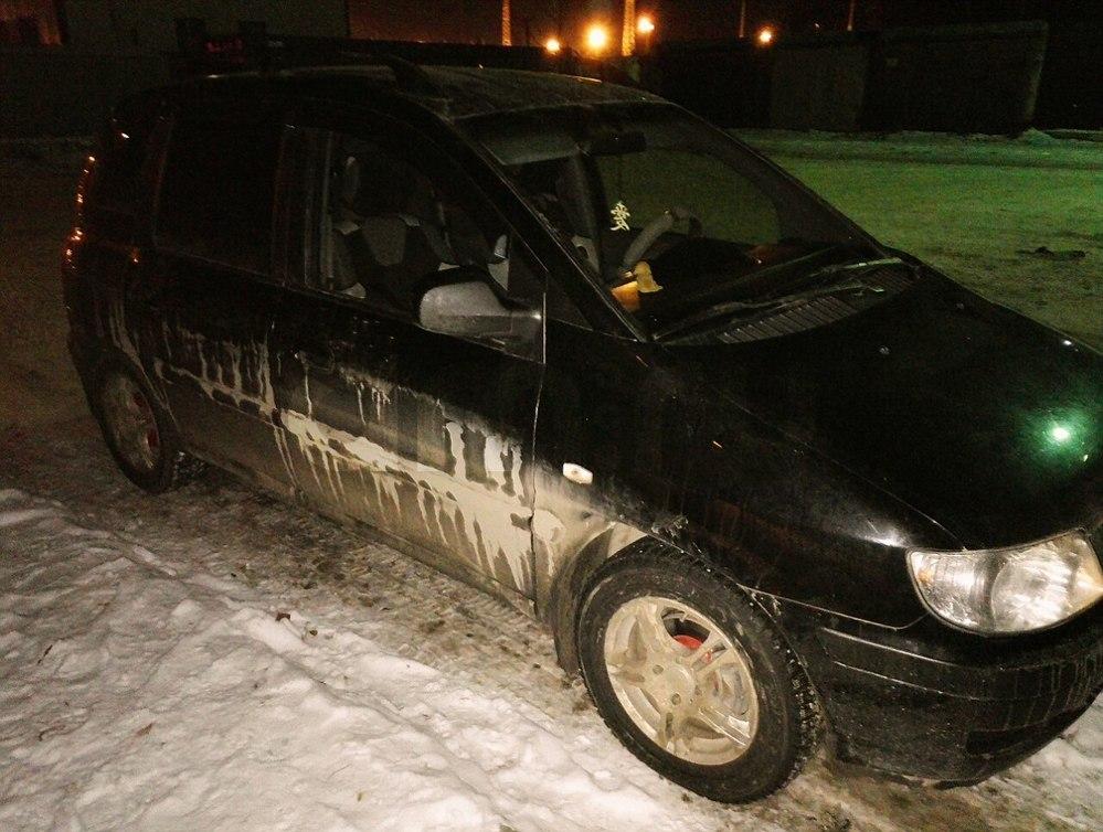 Подержанный Hyundai Matrix, хорошее состояние, черный , 2005 года выпуска, цена 270 000 руб. в ао. Ханты-Мансийском Автономном округе - Югре