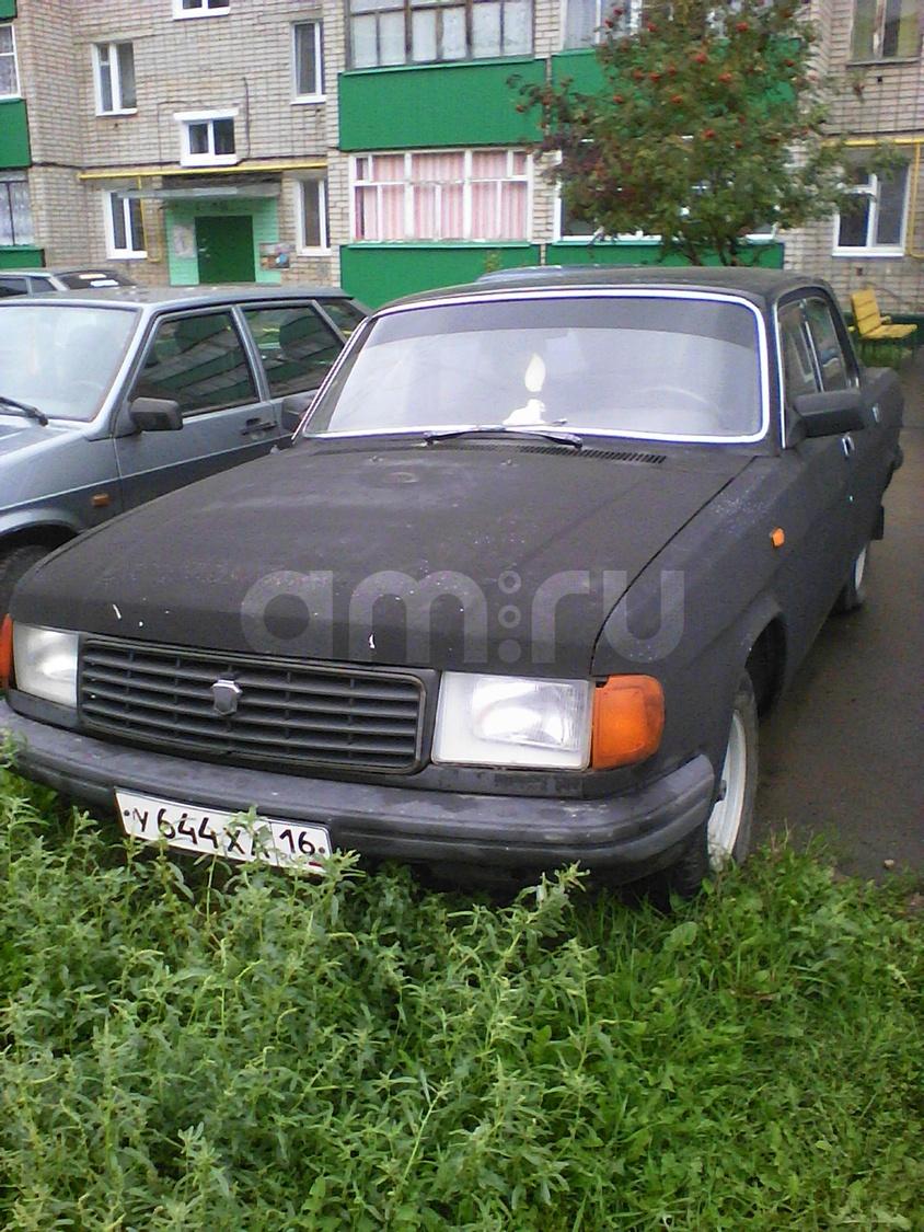 Подержанный ГАЗ 31029 Волга, среднее состояние, черный матовый, 1997 года выпуска, цена 55 000 руб. в республике Татарстане