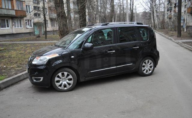 Подержанный Citroen C3 Picasso, отличное состояние, черный , 2013 года выпуска, цена 510 000 руб. в ао. Ханты-Мансийском Автономном округе - Югре