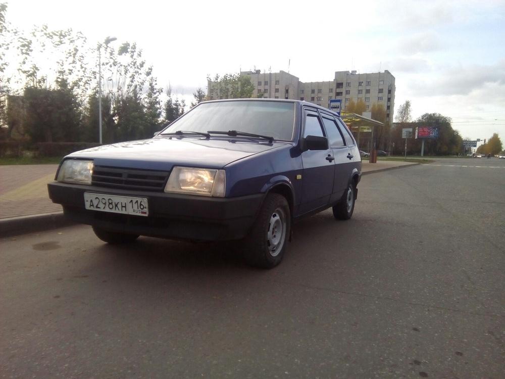 Подержанный ВАЗ (Lada) 2109, отличное состояние, синий , 2004 года выпуска, цена 70 000 руб. в республике Татарстане