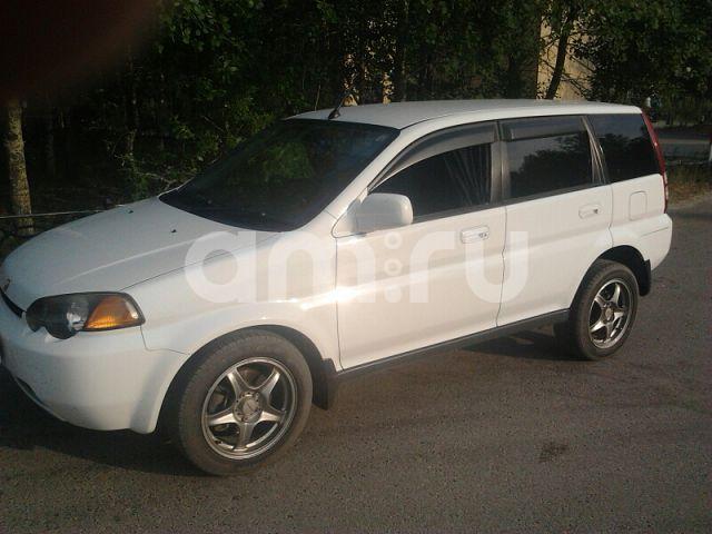 Подержанный Honda HR-V, среднее состояние, белый , 2000 года выпуска, цена 250 000 руб. в ао. Ханты-Мансийском Автономном округе - Югре