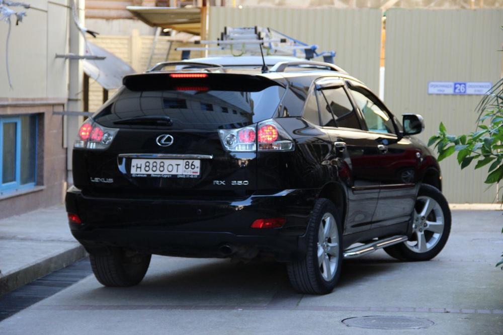 Подержанный Lexus RX, отличное состояние, черный металлик, 2006 года выпуска, цена 950 000 руб. в ао. Ханты-Мансийском Автономном округе - Югре