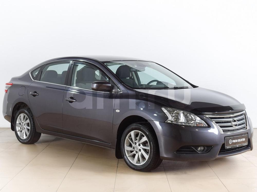 Nissan Sentra с пробегом, серый , отличное состояние, 2015 года выпуска, цена 749 000 руб. в автосалоне  ()