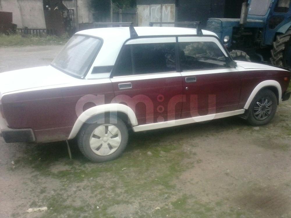 Подержанный ВАЗ (Lada) 2105, хорошее состояние, белый , 1995 года выпуска, цена 40 000 руб. в Челябинской области