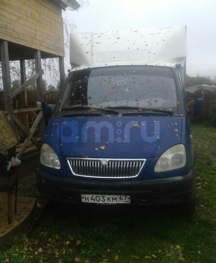 Подержанный ГАЗ Газель, хорошее состояние, синий , 2004 года выпуска, цена 200 000 руб. в Смоленской области