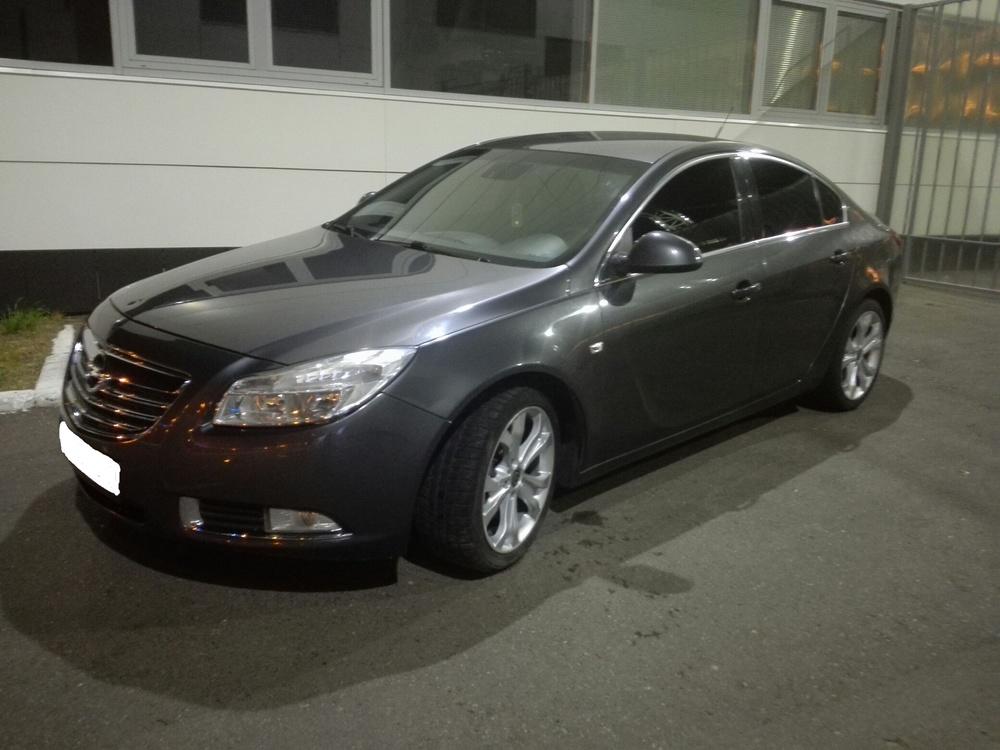 Подержанный Opel Insignia, отличное состояние, серый , 2008 года выпуска, цена 485 000 руб. в республике Татарстане