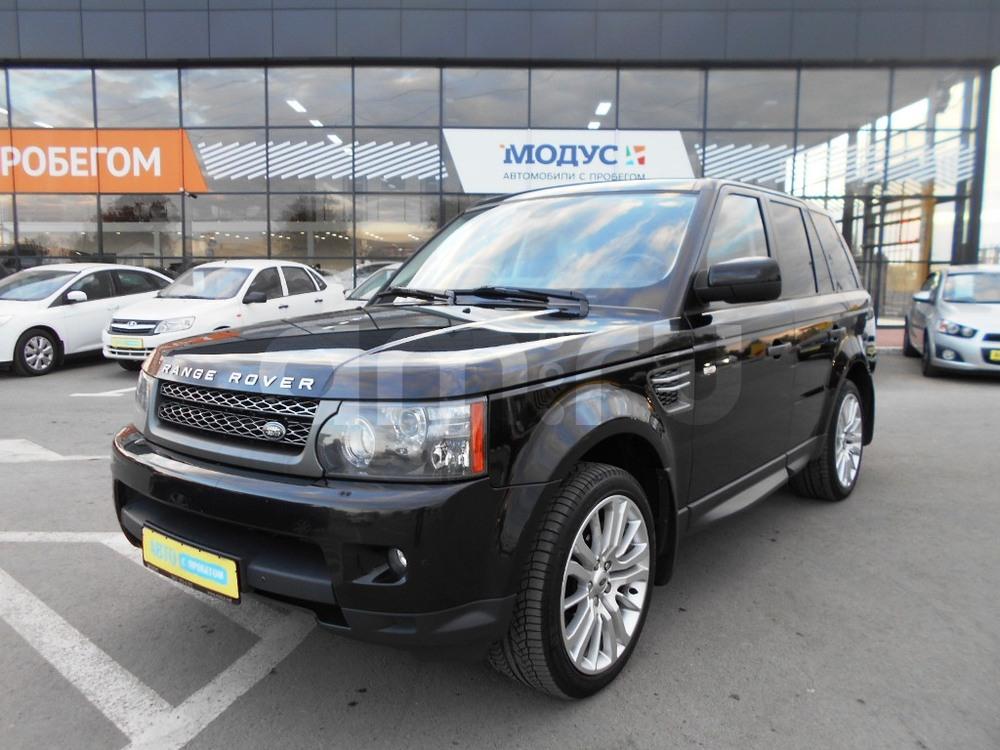 Land Rover Range Rover Sport с пробегом, черный , отличное состояние, 2011 года выпуска, цена 1 780 000 руб. в автосалоне  ()