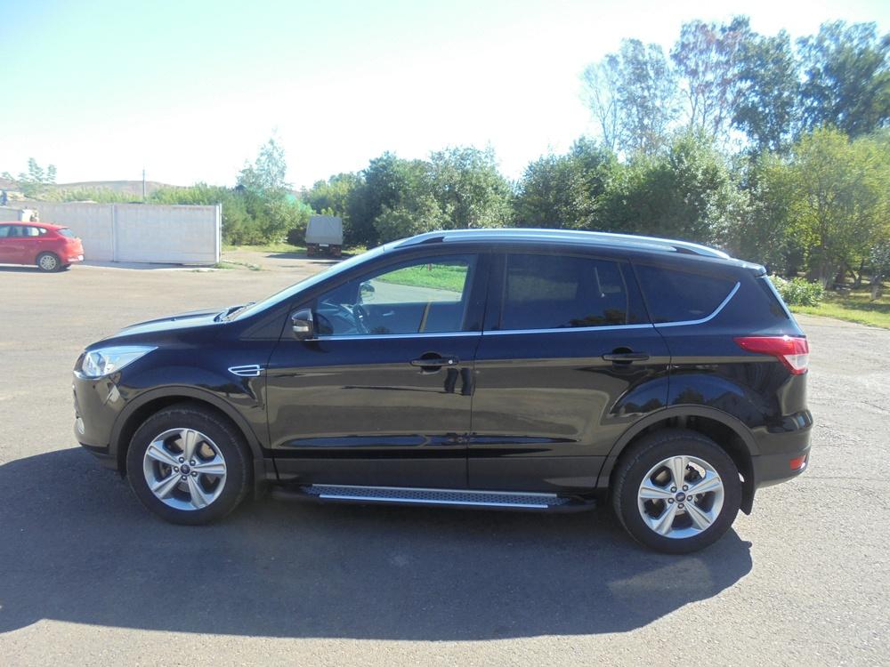 Подержанный Ford Kuga, хорошее состояние, черный , 2013 года выпуска, цена 1 100 000 руб. в республике Татарстане