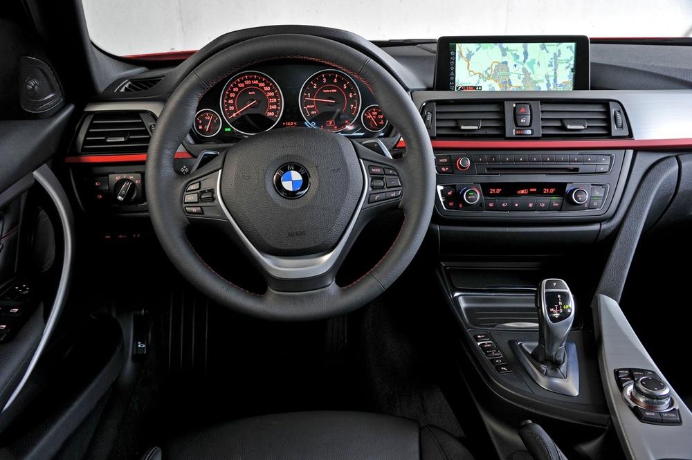 Подержанный BMW 3 серия, отличное состояние, белый , 2013 года выпуска, цена 1 300 000 руб. в Челябинской области
