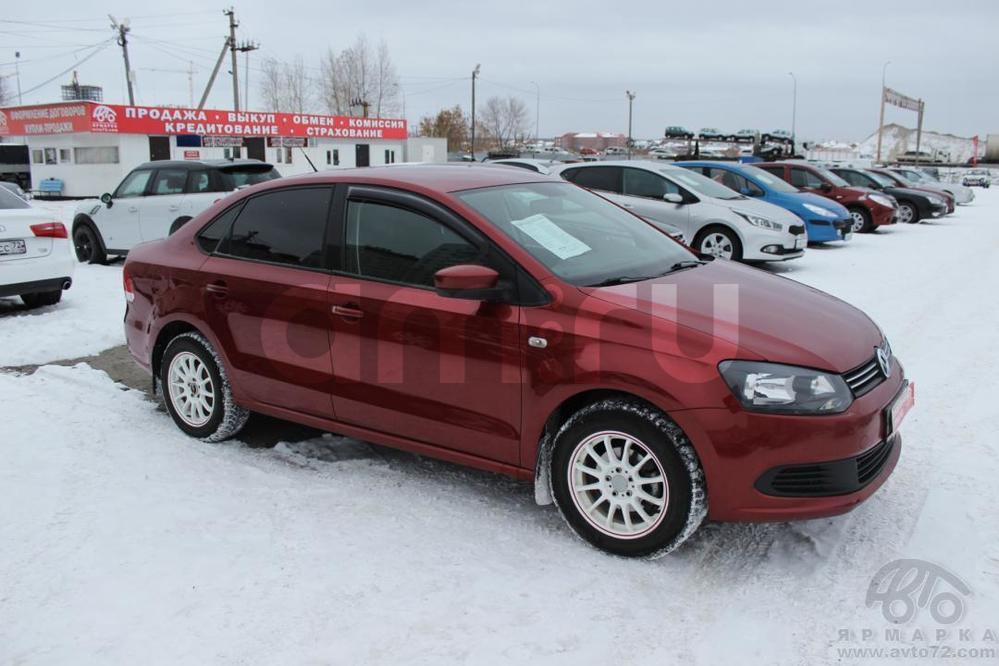 Volkswagen Polo с пробегом, вишневый , отличное состояние, 2012 года выпуска, цена 445 000 руб. в автосалоне  ()