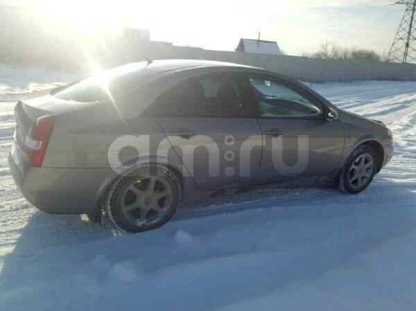 Подержанный Nissan Primera, хорошее состояние, бежевый , 2005 года выпуска, цена 265 000 руб. в Челябинской области