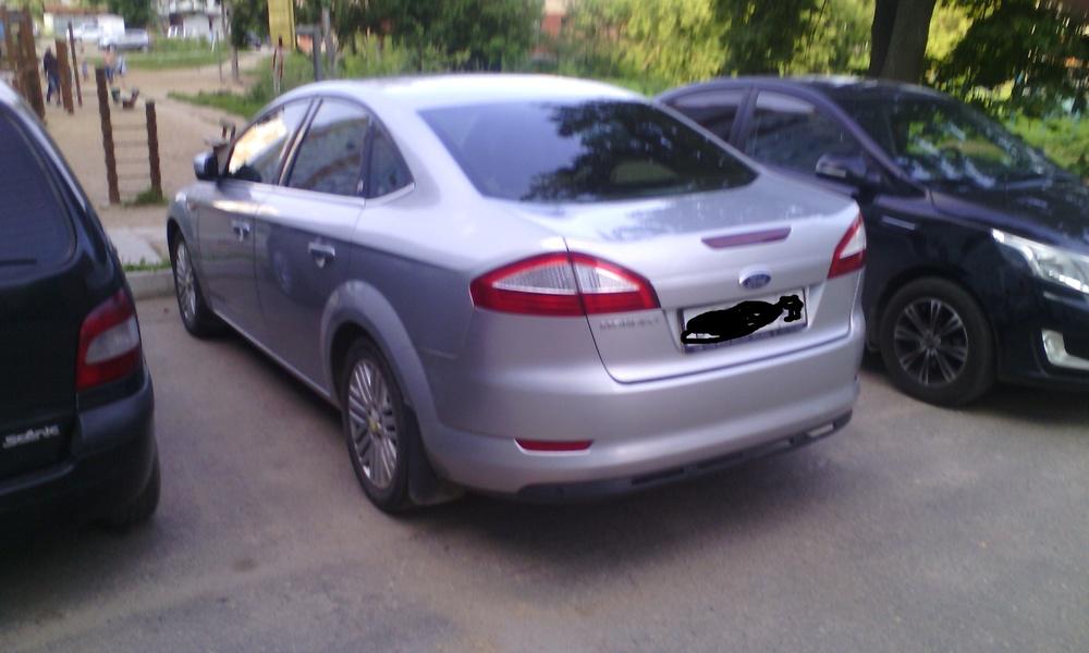 Подержанный Ford Mondeo, хорошее состояние, серебряный металлик, 2008 года выпуска, цена 430 000 руб. в Смоленской области