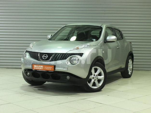 Nissan Juke с пробегом, серебряный , отличное состояние, 2013 года выпуска, цена 827 000 руб. в автосалоне  ()