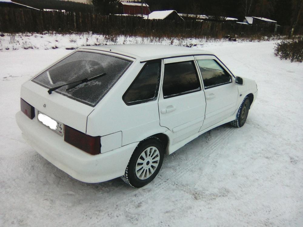 Подержанный ВАЗ (Lada) 2114, хорошее состояние, белый матовый, 2010 года выпуска, цена 145 000 руб. в Челябинской области
