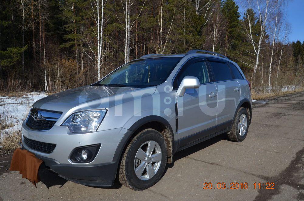 Подержанный Opel Antara, отличное состояние, серебряный металлик, 2012 года выпуска, цена 950 000 руб. в Смоленской области