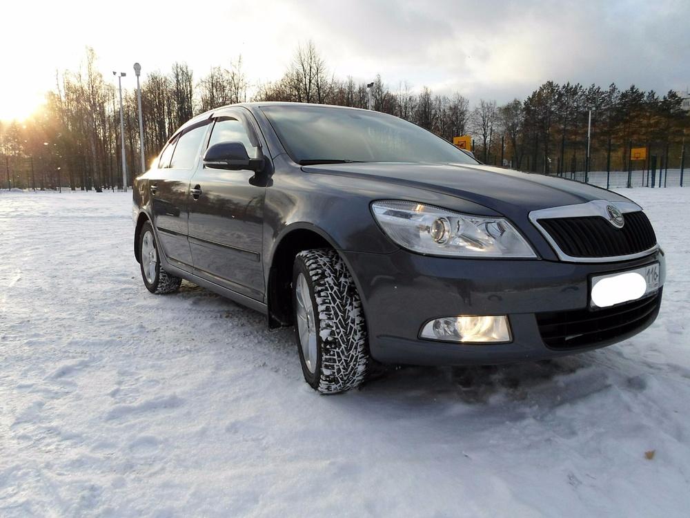 Подержанный Skoda Octavia, отличное состояние, серый металлик, 2011 года выпуска, цена 575 000 руб. в республике Татарстане
