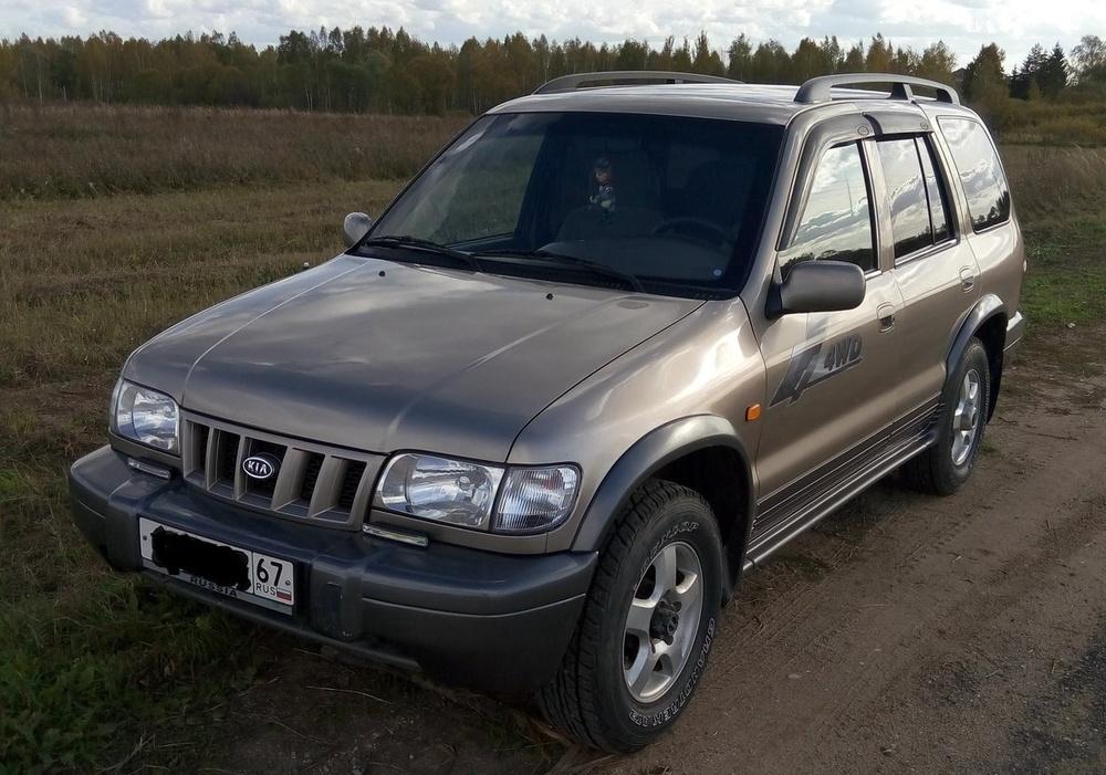 Подержанный Kia Sportage, хорошее состояние, коричневый , 2005 года выпуска, цена 350 000 руб. в Смоленской области