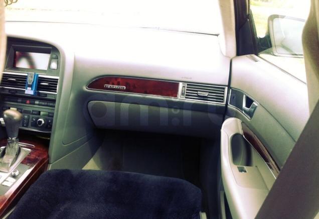 Подержанный Audi A6, хорошее состояние, черный , 2005 года выпуска, цена 550 000 руб. в республике Татарстане
