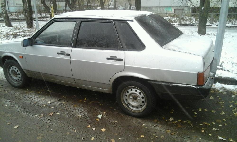 Подержанный ВАЗ (Lada) 2109, хорошее состояние, серебряный , 2002 года выпуска, цена 53 000 руб. в республике Татарстане