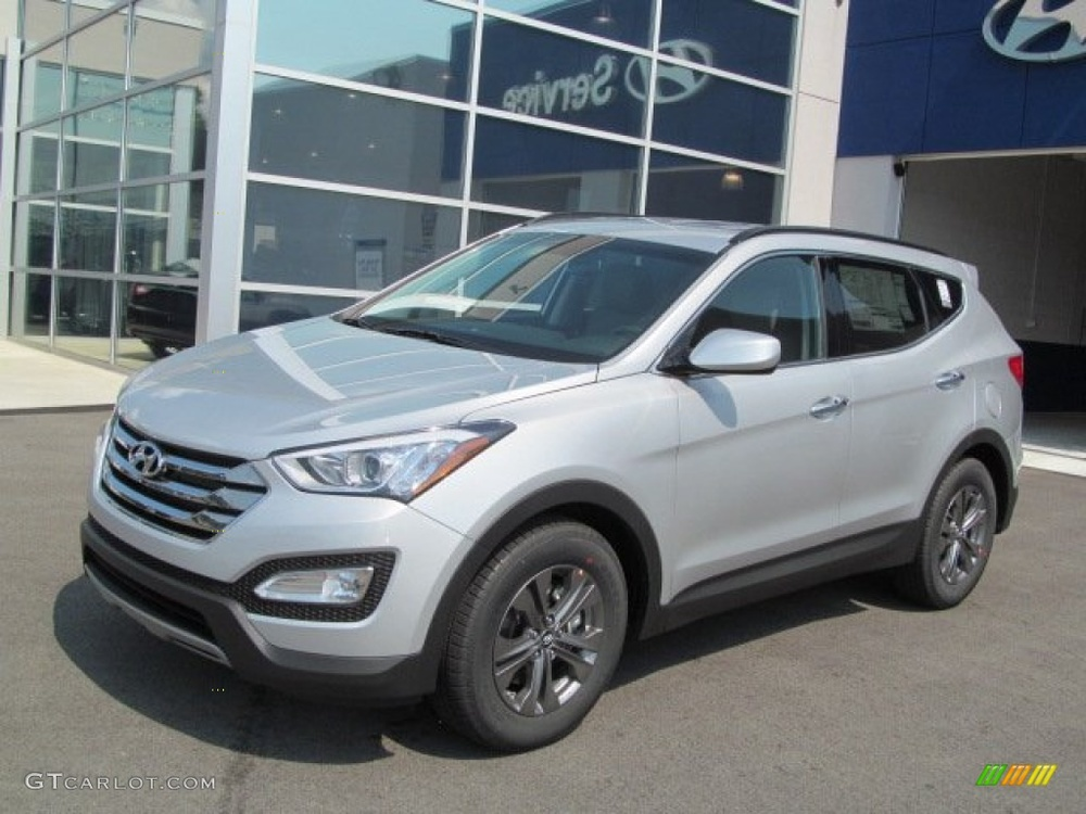 Подержанный Hyundai Santa Fe, отличное состояние, серебряный , 2012 года выпуска, цена 1 600 000 руб. в республике Татарстане