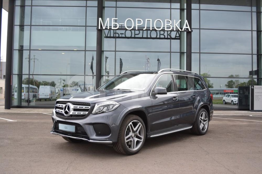 Новый авто Mercedes-Benz GLS-класс, серый металлик, 2016 года выпуска, цена 5 455 000 руб. в автосалоне МБ-Орловка (Набережные Челны, тракт Мензелинский, д. 24)