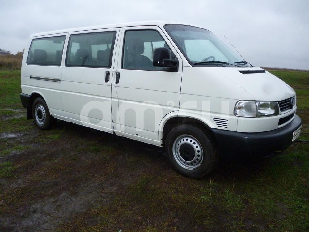 Подержанный Volkswagen Transporter, среднее состояние, белый , 2001 года выпуска, цена 440 000 руб. в республике Татарстане