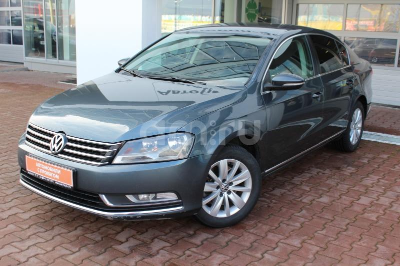 Volkswagen Passat с пробегом, серый , отличное состояние, 2011 года выпуска, цена 659 000 руб. в автосалоне Автобан-Запад (Екатеринбург, ул. Металлургов, д. 67)