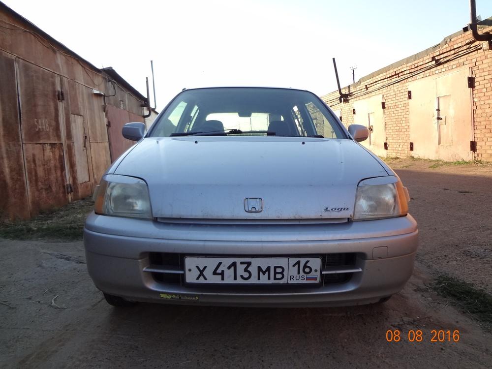 Подержанный Honda Logo, среднее состояние, серебряный перламутр, 1998 года выпуска, цена 95 000 руб. в республике Татарстане
