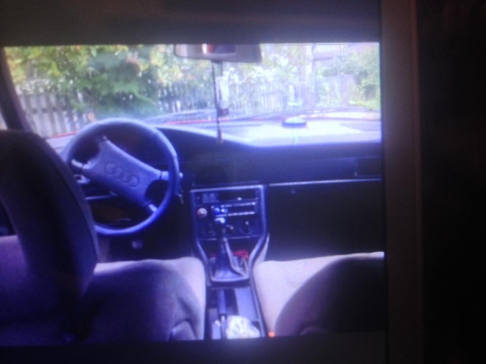 Подержанный Audi 100, среднее состояние, красный матовый, 1989 года выпуска, цена 85 000 руб. в Смоленской области