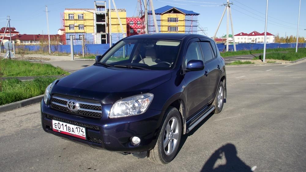 Подержанный Toyota RAV4, отличное состояние, синий , 2007 года выпуска, цена 750 000 руб. в ао. Ханты-Мансийском Автономном округе - Югре
