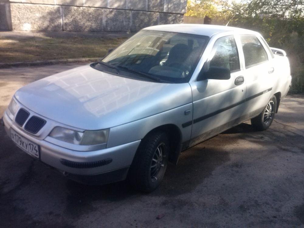 Подержанный ВАЗ (Lada) 2110, хорошее состояние, серый , 2003 года выпуска, цена 98 000 руб. в Челябинской области