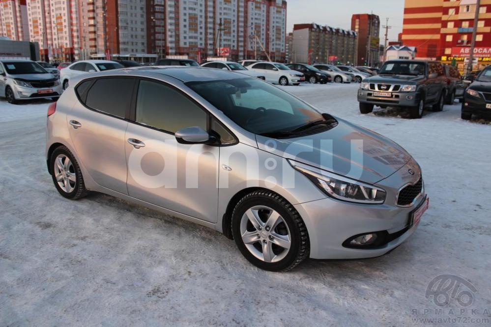 Kia Cee'd с пробегом, серебряный , хорошее состояние, 2012 года выпуска, цена 680 000 руб. в автосалоне  ()