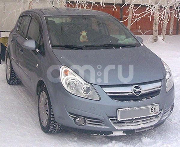 Подержанный Opel Corsa, хорошее состояние, серебряный , 2008 года выпуска, цена 230 000 руб. в ао. Ханты-Мансийском Автономном округе - Югре
