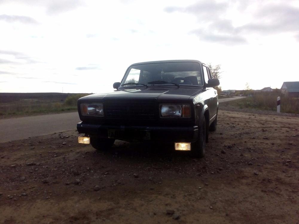 Подержанный ВАЗ (Lada) 2107, хорошее состояние, вишневый , 2007 года выпуска, цена 65 000 руб. в республике Татарстане