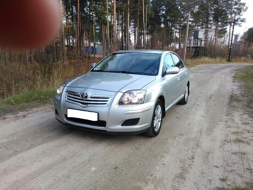 Подержанный Toyota Avensis, хорошее состояние, серый металлик, 2008 года выпуска, цена 525 000 руб. в ао. Ханты-Мансийском Автономном округе - Югре