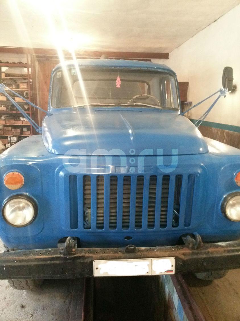 Подержанный ГАЗ 52, хорошее состояние, синий матовый, 1988 года выпуска, цена 250 000 руб. в Челябинской области