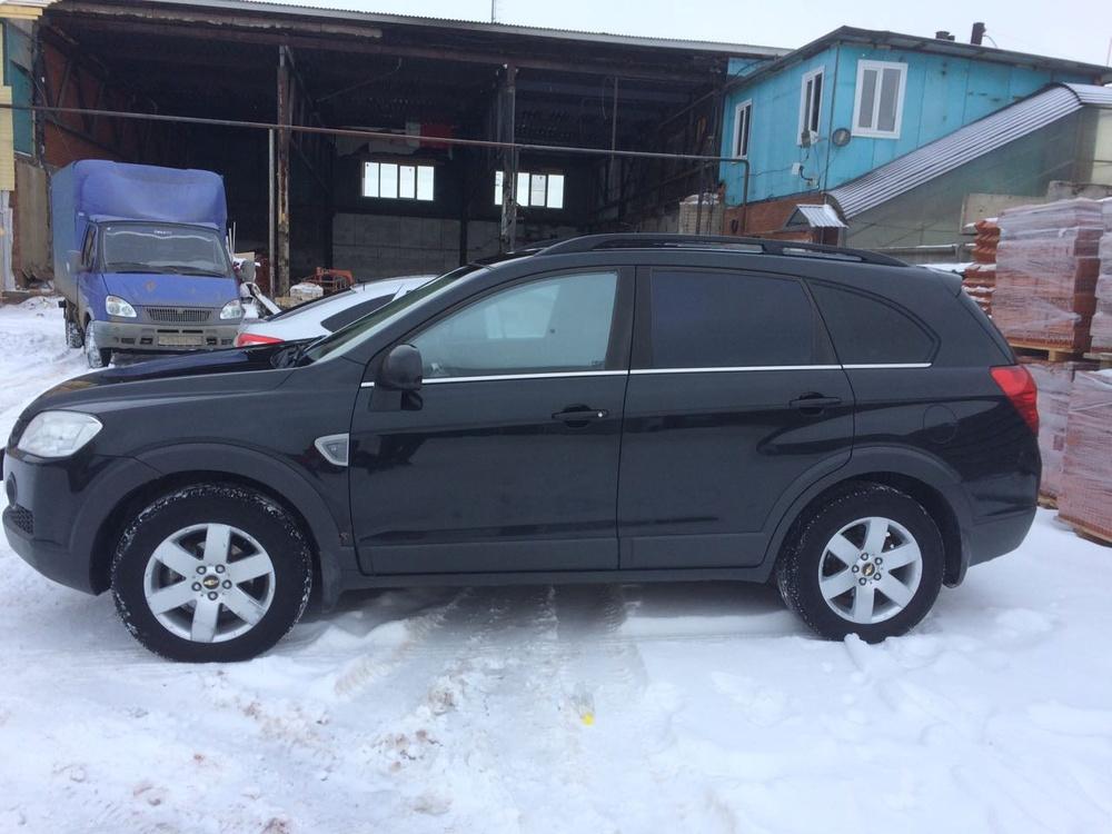 Подержанный Chevrolet Captiva, отличное состояние, черный , 2008 года выпуска, цена 550 000 руб. в республике Татарстане